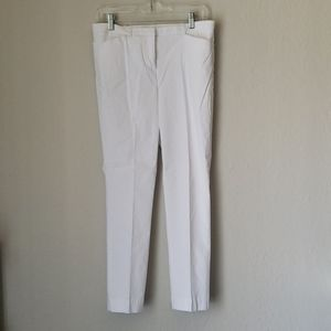 Worthington White Ankle Pants